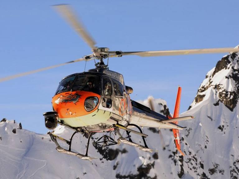 chamonix helicopter trips