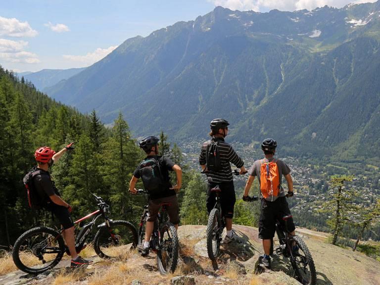 chamonix mountain biking