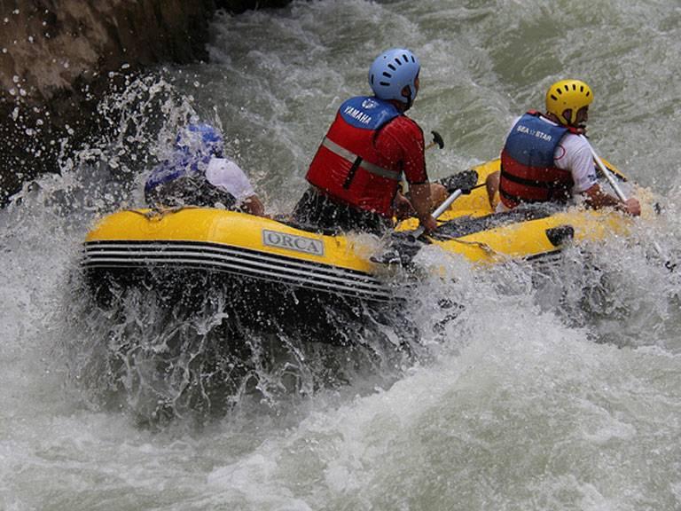 chamonix rafting white water