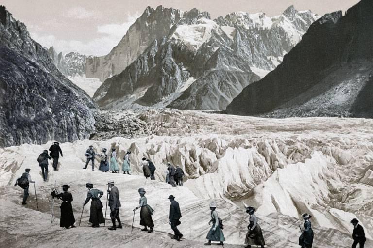mer de glace chamonix 1900s
