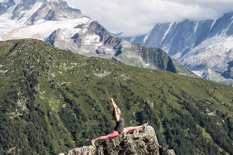 yoga studio chamonix